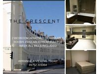 2 Bedroom Luxury Apartment - City Centre - Parking Space - All bills included - £240 per week