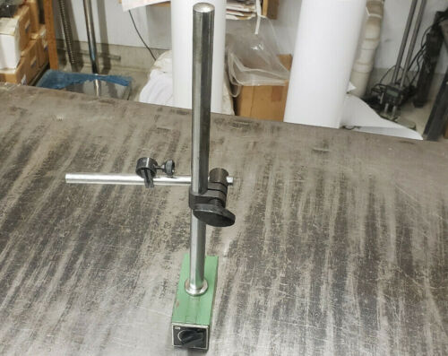 Federal 1492B-15 Magnetic Base Indicator Holder Test Set Stand w/Arms.  shelf-24