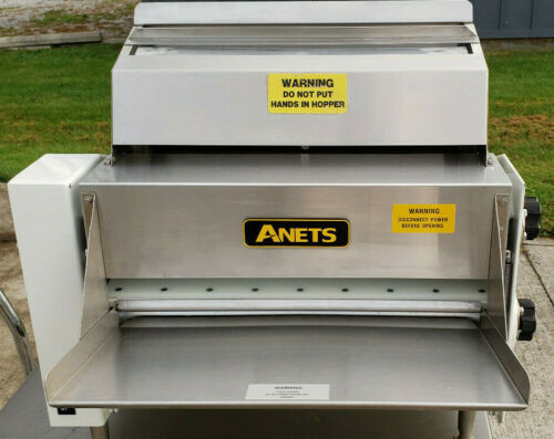 """ANETS 20"""" SDR-42 DOUGH ROLLER SHEETER Very Clean-Tested-2 pass Roller"""