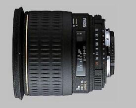 Nikon F Sigma 24 1.8 AF 1.8D Macro Aspherical EX DG