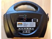 Car Battery Charger Halfords Automatic 8 Amp 12V Petrol Diesel Slow Fast Charge Boxed As New