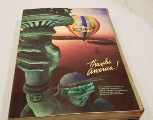 Vintage 1986 SEARS Fall & Winter Centennial Edition Catalog