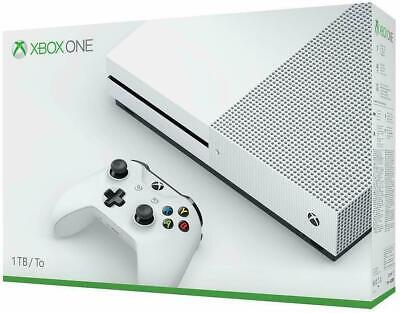 Xbox One S 1TB Console - White (Damaged Outer Box) Brand New Console