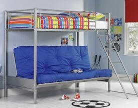 Kids Bunk bed and sofa / double bed