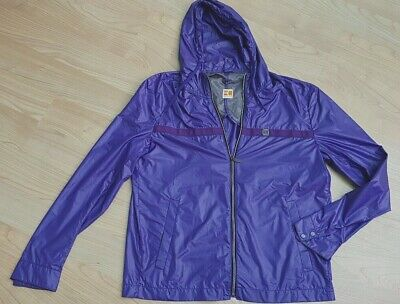 HUGO BOSS ORANGE Men's Lightweight Hooded Jacket PURPLE size 50 RRP£269 NEW SALE