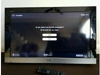 Sony Bravia LCD Digital TV 32 inches with remote