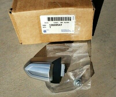 NEW 13-19 Cadillac CTS, CT6, ATS, XTS, XT4 REAR Door Lock Cylinder Cover Cap,OEM