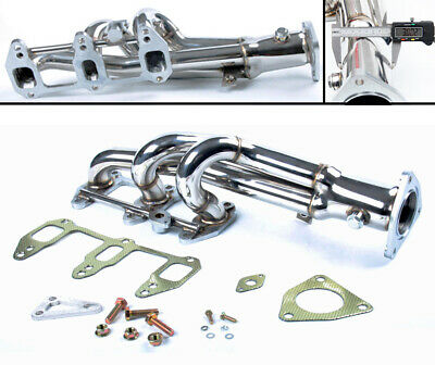 STAINLESS STEEL SPORT EXHAUST MANIFOLD FOR MAZDA RX8 RX8 190HP & 210HP 2003 UP
