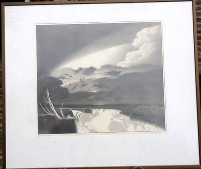 """""""Von Natur aus"""" Bleistiftzeichnung original Frauke Migge 1989 Worpswede signiert"""