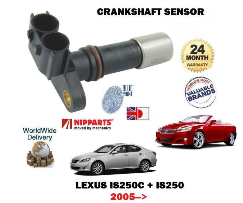 FOR LEXUS IS250C IS250 4GR-FSE 2.5 24v 2005-->NEW CRANKSHAFT ANGLE CRANK SENSOR
