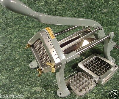Sportsman Commercial Grade French Fry Cutter Slicer 38 And 12 Fruit Vegetable