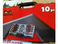 Teng tools 10 piece screwdriver set