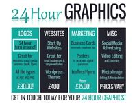 Next Day Logo Designs, Websites and More!