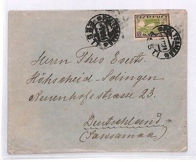 BN123 1924 Estonia Cover PTS