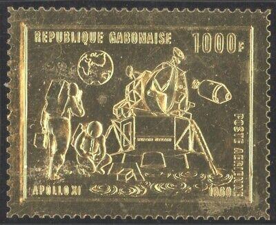 Gabon 1969 Gold Stamp Space - MNH Stamp R315