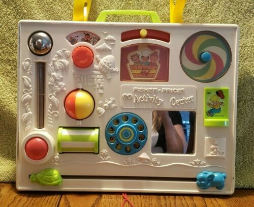 Vintage 1973 Fisher Price Activity Center Busy Box 134