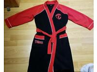 Boys Manchester United dressing gown age 8-9yrs