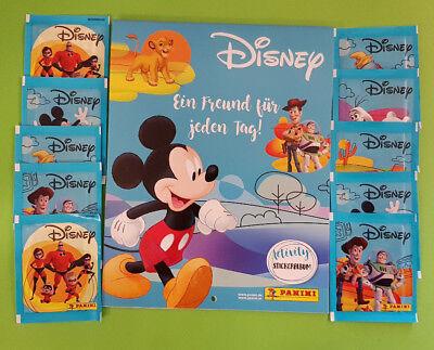 Panini Disney Mix Sticker Serie Stickeralbum Leeralbum + 10 Tüten Neu Disney Mix Stick