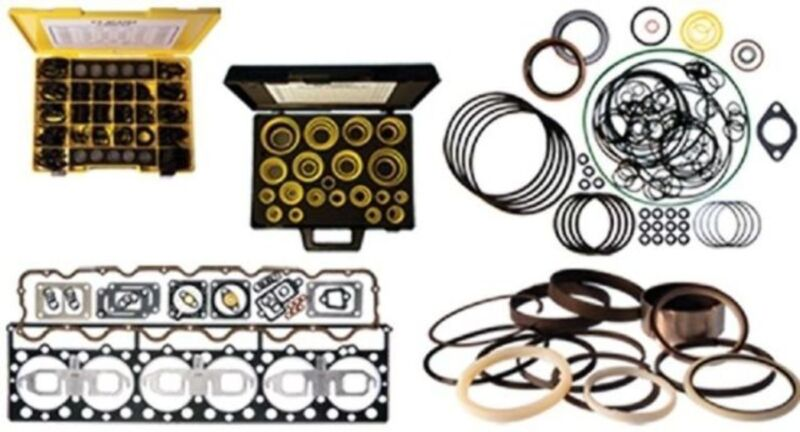 1254657 Aftercooler And Lines Gasket Kit Fits Cat Caterpillar 789 3516