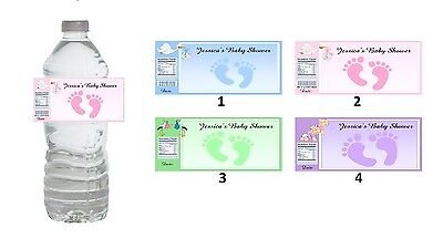 10 Baby Shower Party Favors ~ Water Bottle labels Buy 3 get 1 free (bg8)](Buy Baby Shower Favors)