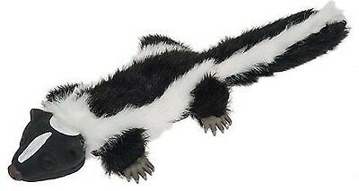 HYPER PET REAL SKINZ SKUNK DOG TOY w/SQUEAKER, Safe and Durable