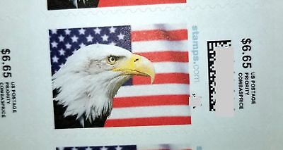 US Postage Stamps.$6.65 each one face value, total face value $159.60, 24 pieces