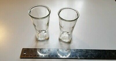 2 Vintage large double Shot glasses 4