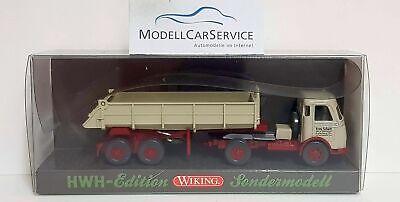 Wiking Sondermodell 1/87: MB Pullman Kipp-Sattelzug  Fritz Schott Spedition