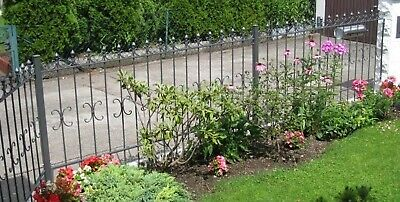 Wrought Iron Fence Cassel-Z200/100 Galvanised