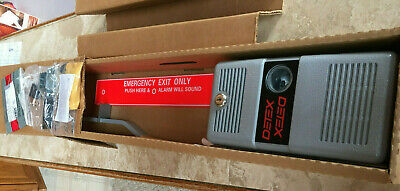 New Factory Sealed Box Detex Ecl-600 Fire Rated Panic Hardware Security Alarm