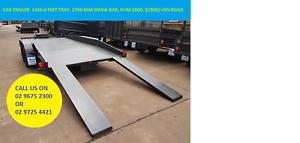 14x6.6 feet Car Trailer with GVM 2000 kgs on Road $2900