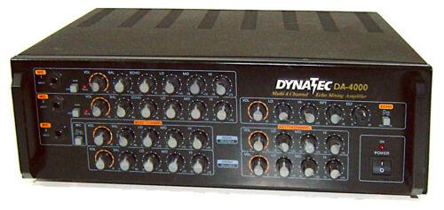 🔥【PRO TESTED】DynaTec DA-4000 4-Ch Pro Karaoke Mixer & 400W Amp w Echo💥GUARANTY