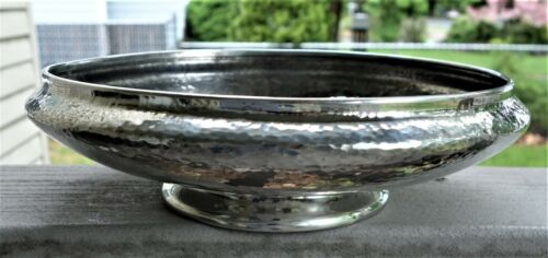 Elegant Tudric Pewter Bowl by Liberty of London, Marked, Fine Original Condition