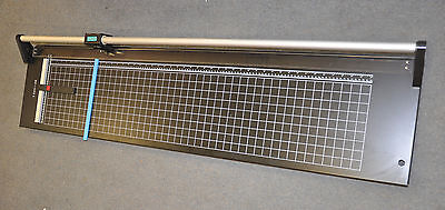 New 48 Hard Steel Manual Rotary Paper Trimmer Cutterphotoposterbannercopper