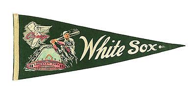 1940S Chicago White Sox  Comiskey Park  Full Size 28  Pennant