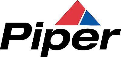 Piper Aircraft  Banner- Vintage Logo  FREE SHIPPING