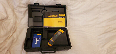 Fluke 61 Infrared Thermometer W Case - Tested And Working Used
