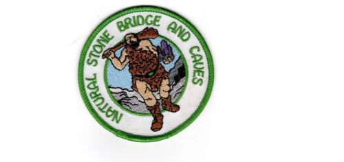 Natural Stone Bridge and Caves Patch, Texas, Mint, Unused