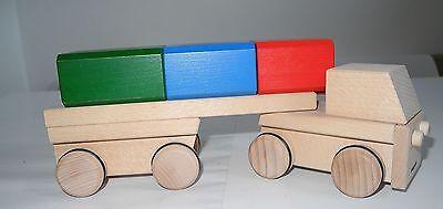 LKW Lastwagen Sattelschlepper aus Holz von Fagus zerlegbar   OVP neu
