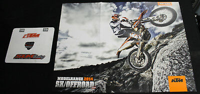 NEW OLD STOCK KTM 2014 SX MOTOCROSS OFFROAD DIRT BIKE POSTER MOTORCYCLE DIRTBIKE