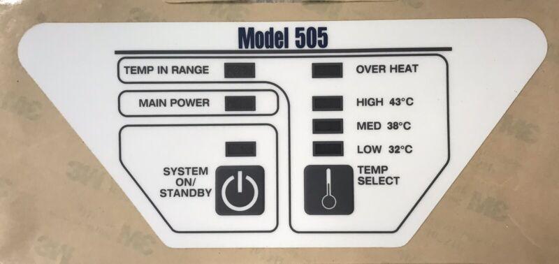 Keypad Overlay for  Bair Hugger 505