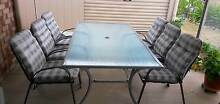 Outdoor glass top table & 6 chairs Regency Downs Lockyer Valley Preview