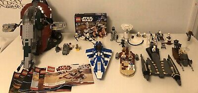 LEGO Star Wars 8 Retired Sets LOT  (30+ minifigs)