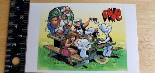 Bone Promotional Postcard Jeff Smith Cartoon Books Dark Horse Comics 2000