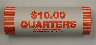 2003 D ILLINOIS STATE QUARTER BU MACHINE WRAPPED ROLL  40 COINS  SEALED
