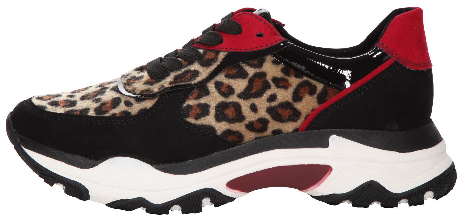 Marco Tozzi  Damen Sneaker black/leo