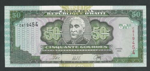 HAITI  50 GOURDES 2000  P- 267  UNC