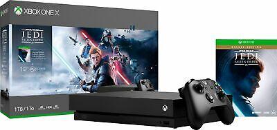 Microsoft - Xbox One X 1TB Star Wars Jedi: Fallen Order Deluxe Edition Conso...