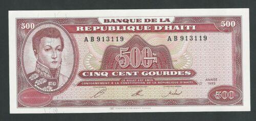 HAITI  500 GOURDES 1993  P- 264  UNC