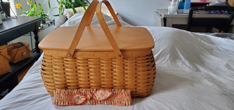 longaberger craft keeper basket 2001